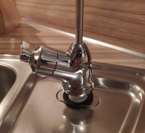 Wasserhahn Filter einbauen